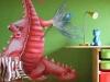 fresque chambre enfant dragon